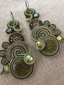 "Orecchini ""Forest"" (Soutache)"
