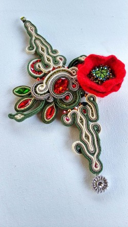"""Washi"" Braccieletto (Soutache)"