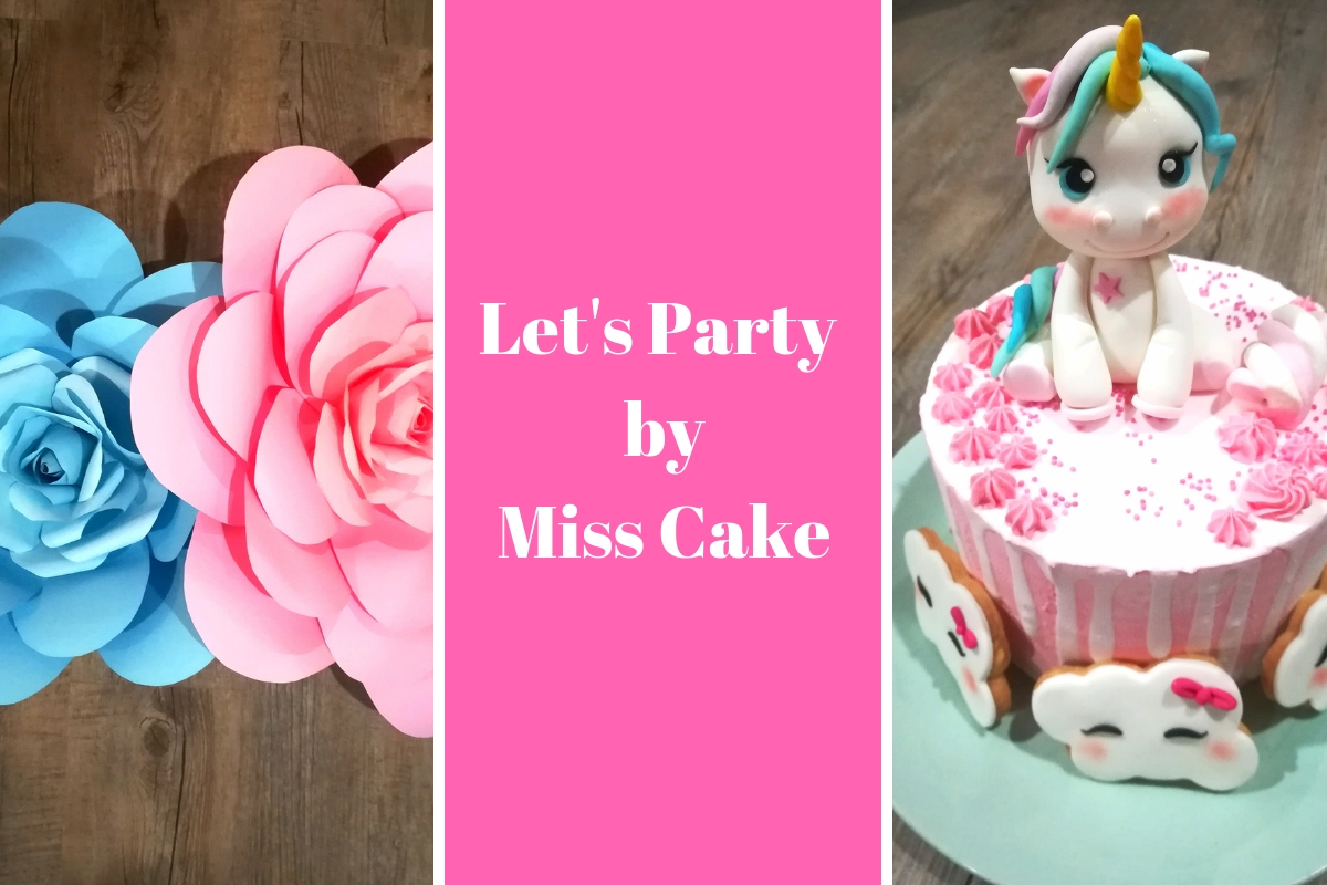 LET'S PARTY! BY  MISS CAKE