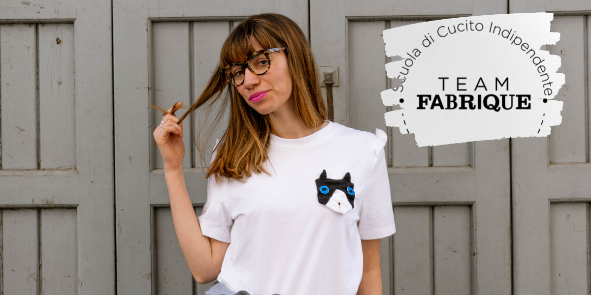 COME DECORARE UNA T-SHIRT CON UNA TASCA MIAO