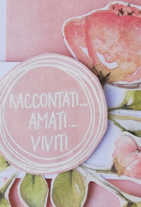 "mini album ""Raccontati...amati...viviti..."""
