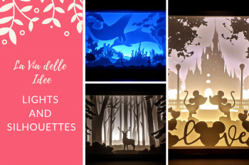 LA VIA DELLE IDEE - LIGHTS AND SILHOUETTES