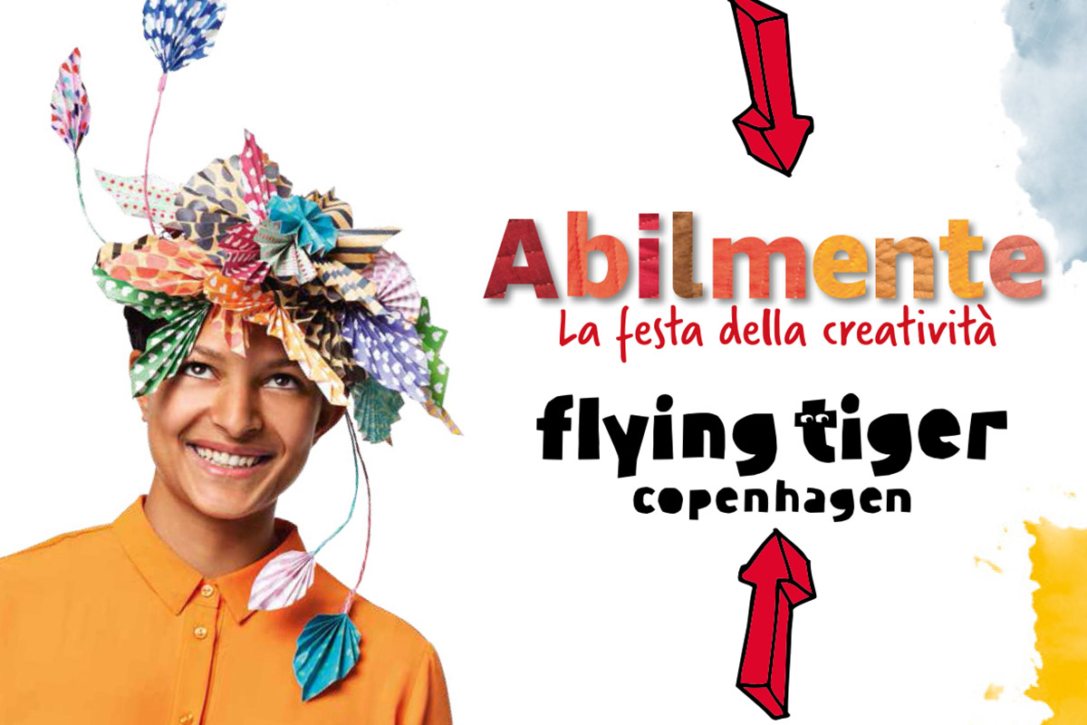 I WORKSHOP DI FLYING TIGER COPENHAGEN AD ABILMENTE ROMA